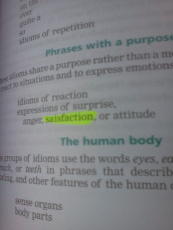 """Saisfaction?"" Really, Cambridge?"