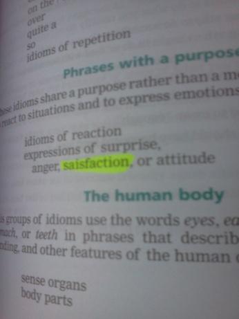 """""""Saisfaction?"""" Really, Cambridge?"""